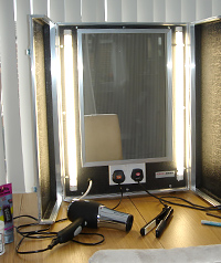 Make Up Mirrors For Film And Tv Locations